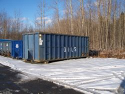 40 Yard Roll Off Container